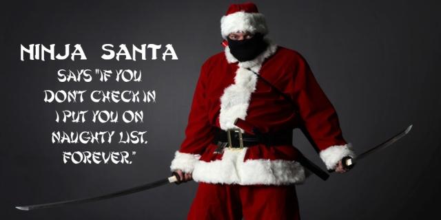 Check in_santa