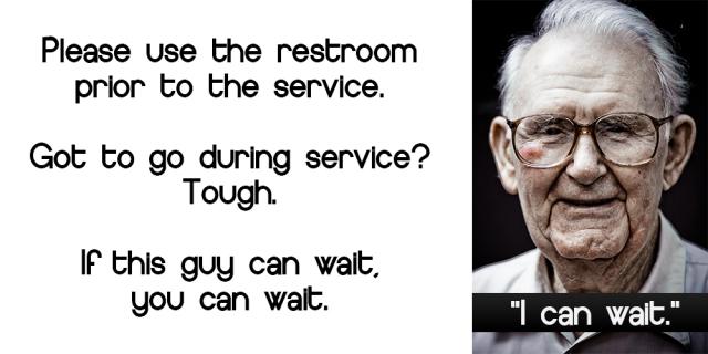 Restroom slide_old man